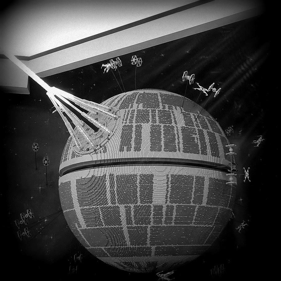 Legoland California Star Wars Days Death Star