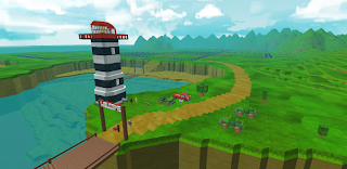 Roblox island lighthouse sandbox game like Minecraft