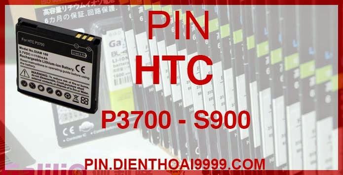Pin HTC S900 - Pin Galilio HTC S900 Pin dung lượng cao 1600 mAh - Giá 160k - Bảo hành: 6 tháng  - Pin tương thích với điện thoại HTC Diamond 1/ P6950/ P3700/ P3701/ P3702/ S900/ S910 / S900w  Thông số kĩ thuật: - Pin HTC S900 1600 mAh được thiết kế kiểu dáng và kích thước y như pin nguyên bản theo máy, Pin tiêu chuẩn, chất lượng như pin theo máy. - Kích thước: 4.19cm x 4.5cm x 0.59cm - Dung lượng: 1600 mAh - Điện thế: 3.7V - Công nghệ: Pin Li-ion Battery