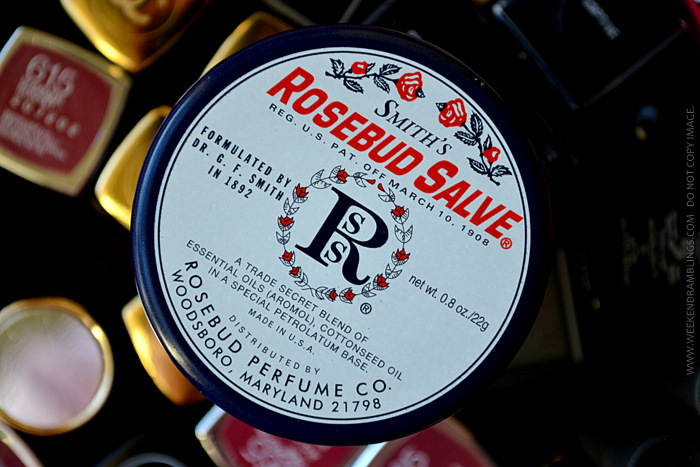 Rosebud Perfume Co Lip Balm Salve - Review Photos Ingredients