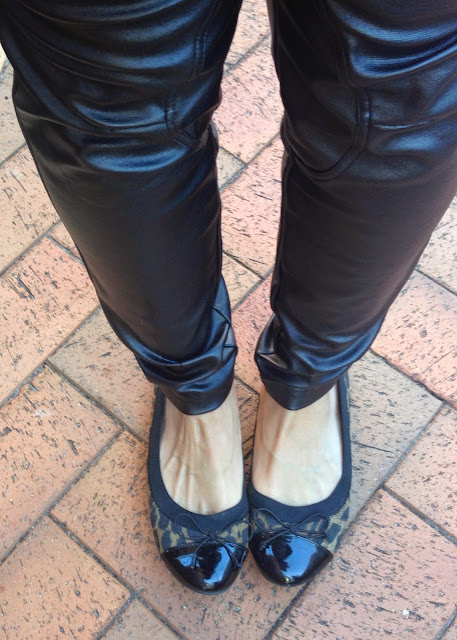 Leather trousers - how to wear them when you're over 40