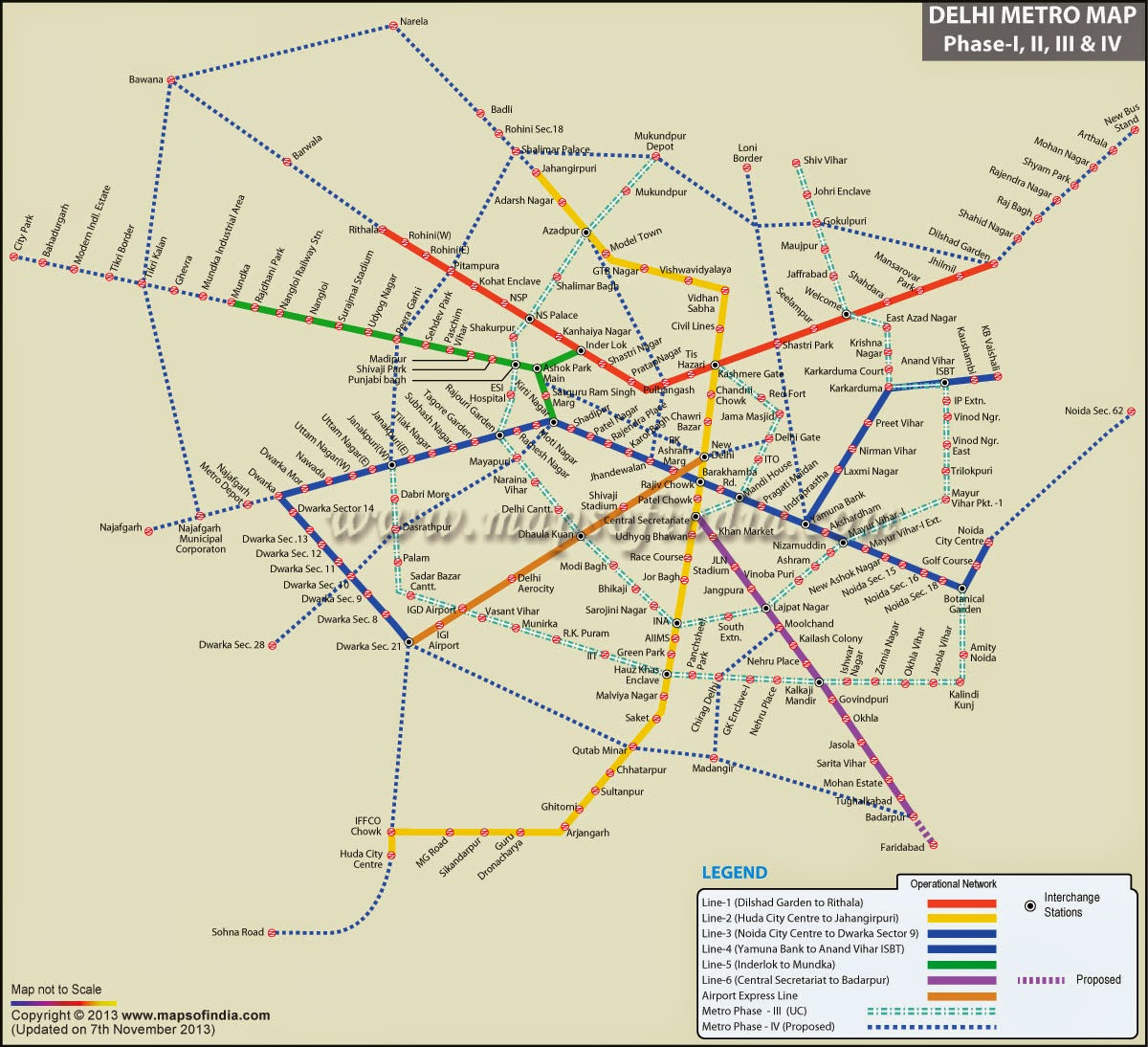 Delhi Metro Phase 4 | NaveedK7