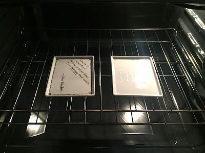 bake ceramic platter