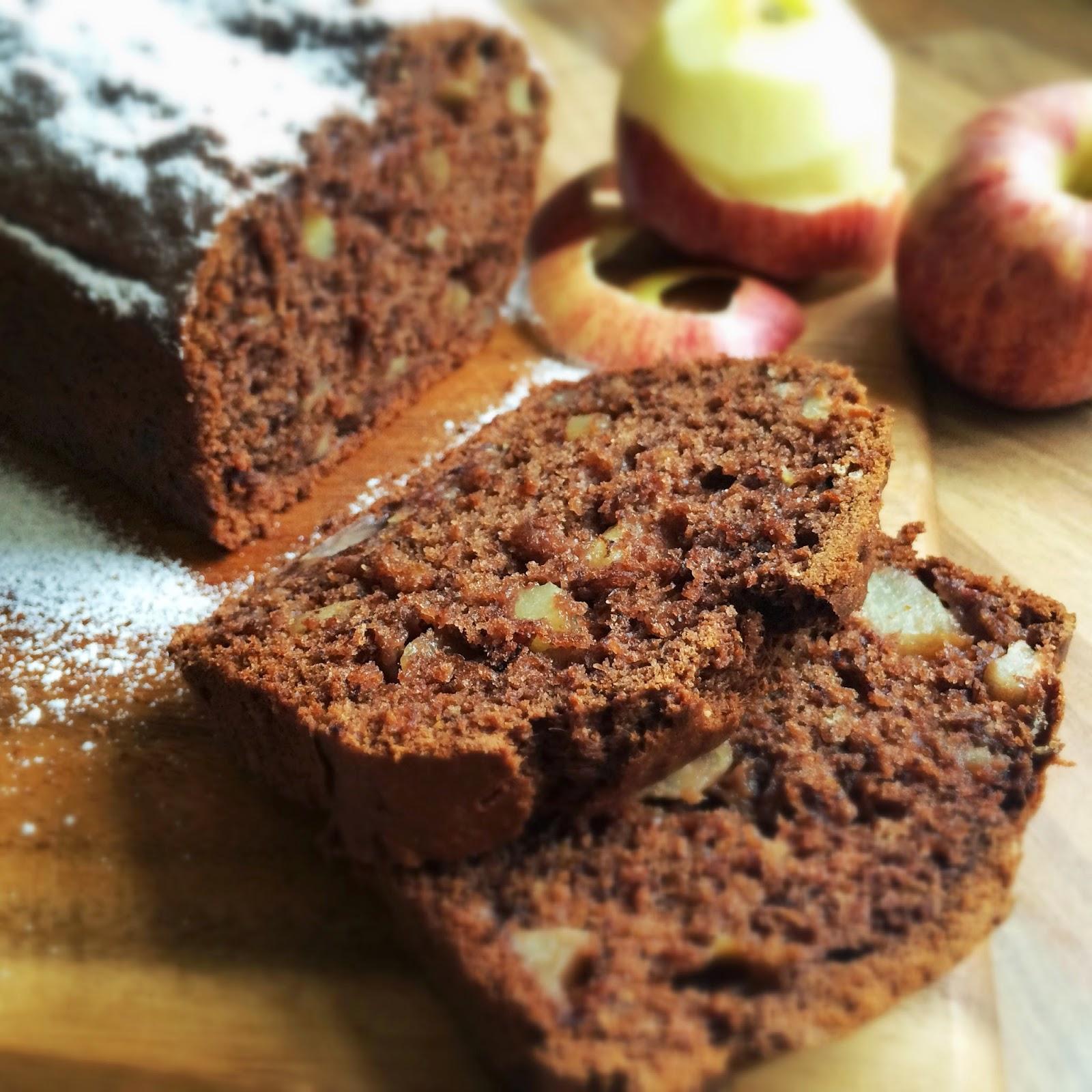 kakaowe ciasto, ciasto z jablkiem, ptysiu mietowy