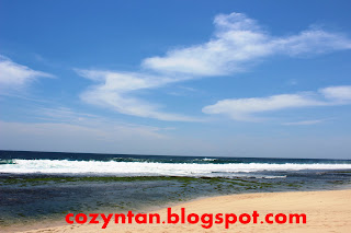Sky in Sepanjang Beach, Jogjakarta