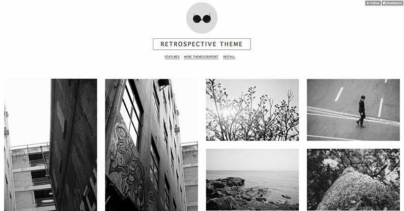 Retrospective Tumblr Theme