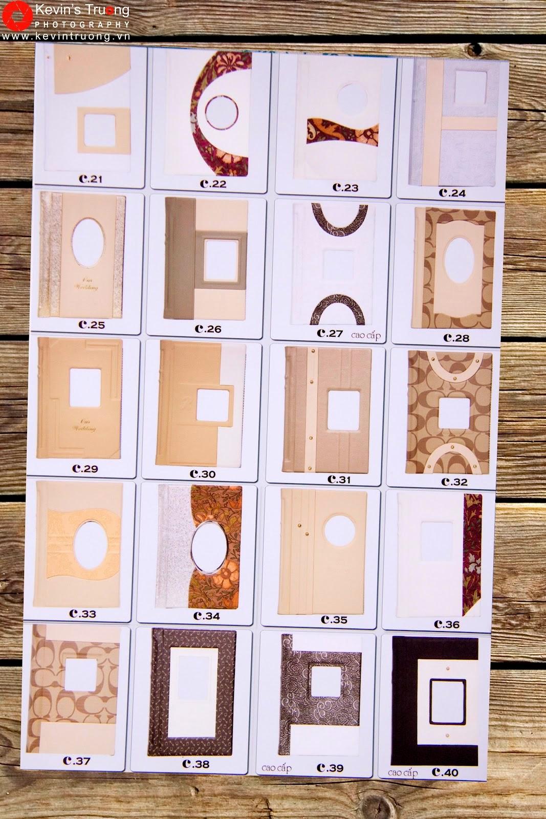 Gia Công-In Album Cát Kim Tuyến-Album 3D,Photobook,Ép gỗ các loại - 14