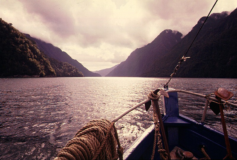 Beautiful World: Entering Quinta Peu Fiord, Chile
