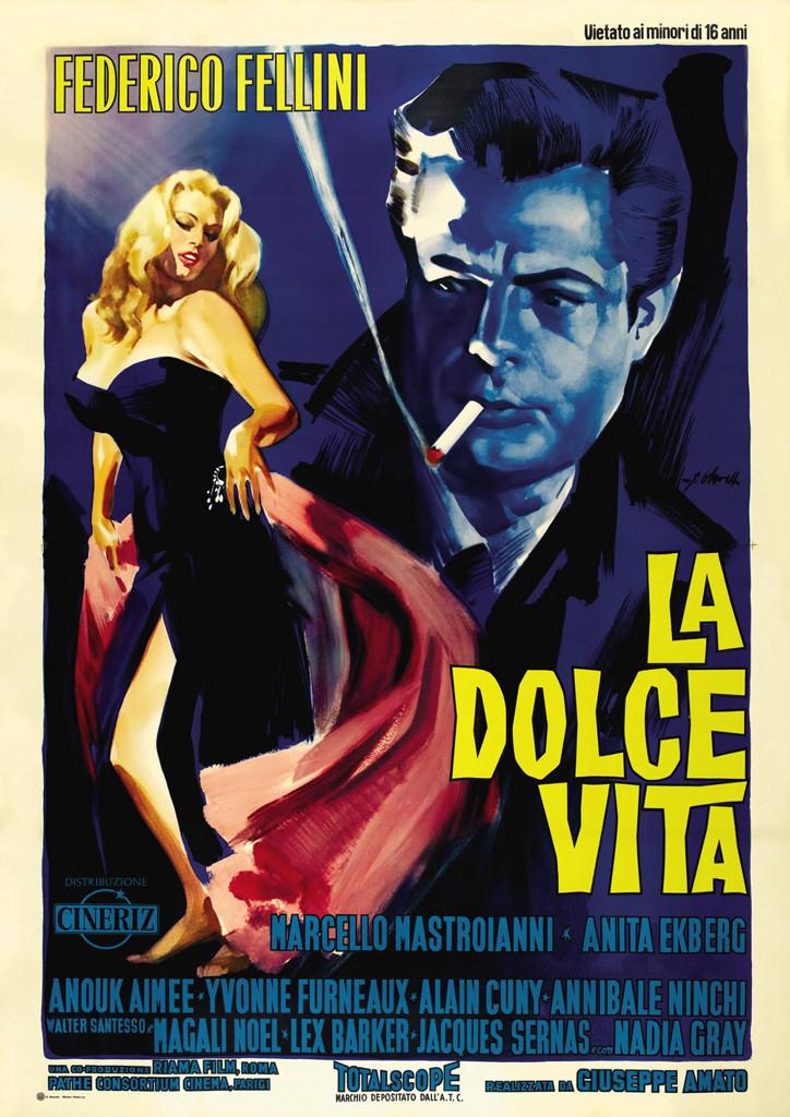 """Avengers in Time: 1960, Film: """"La Dolce Vita"""""""