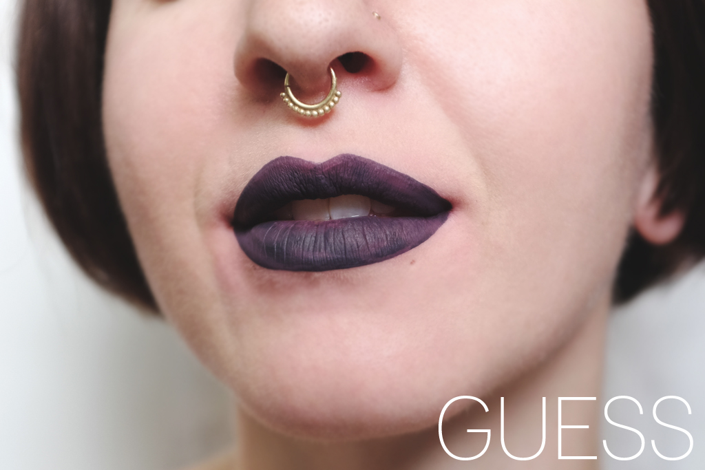ColourPop Cosmetics Ultra Matte Lip Guess Swatch - Mini Penny Blog