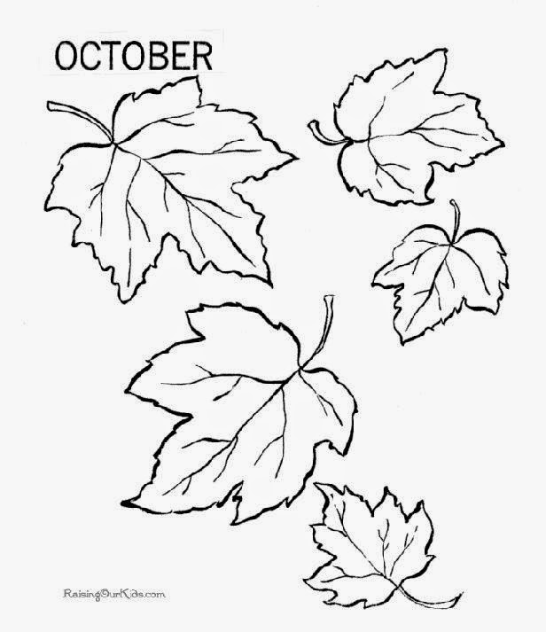 Printable Fall Coloring Pages Parents