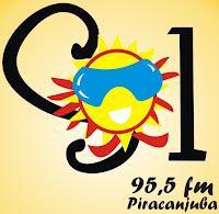 Rádio Sol FM da Cidade de Piracanjuba ao vivo