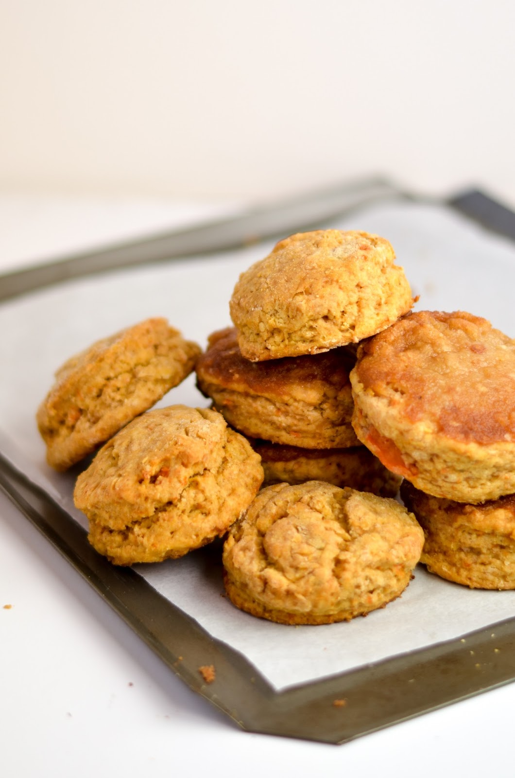 Food mashes/-/ Sweet potato scones with(optional) gingersnap crust ...