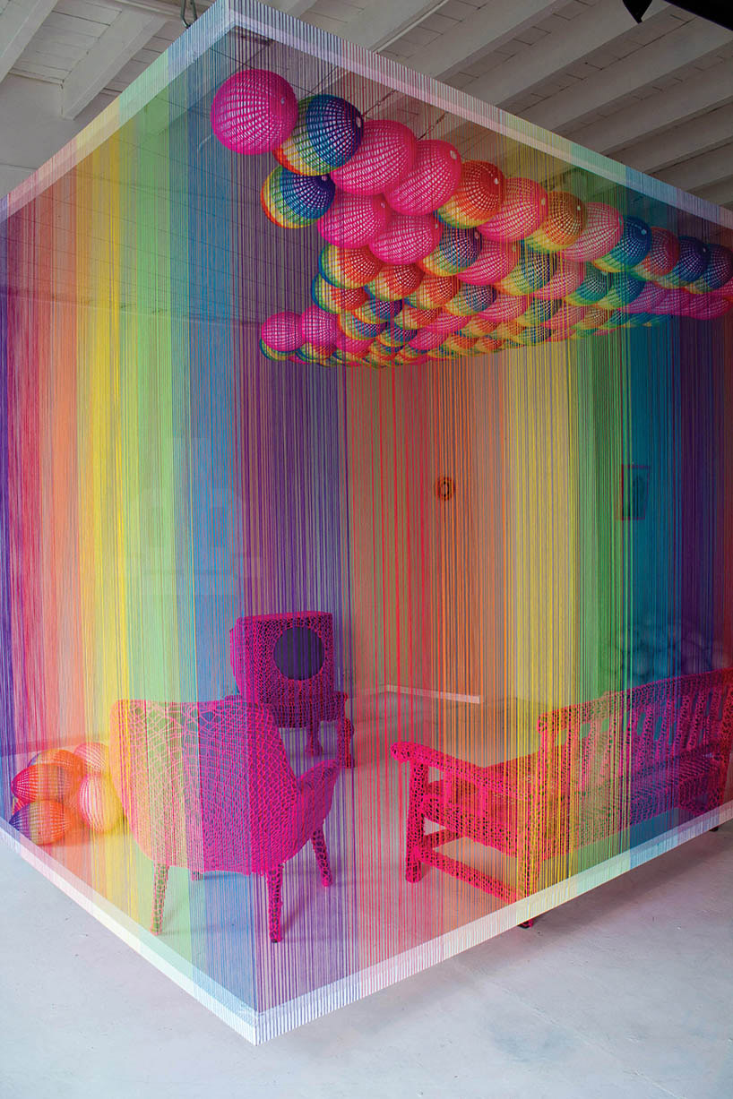 rainbow room installation