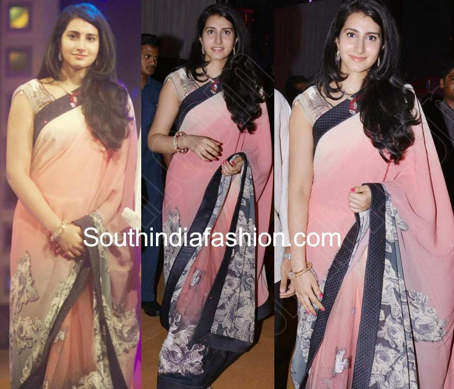 nara brahmini latest sarees