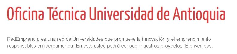 Oficina Técnica Universidad de Antioquia