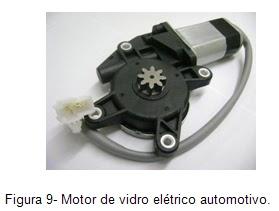 Motor de vidro elétrico automotivo