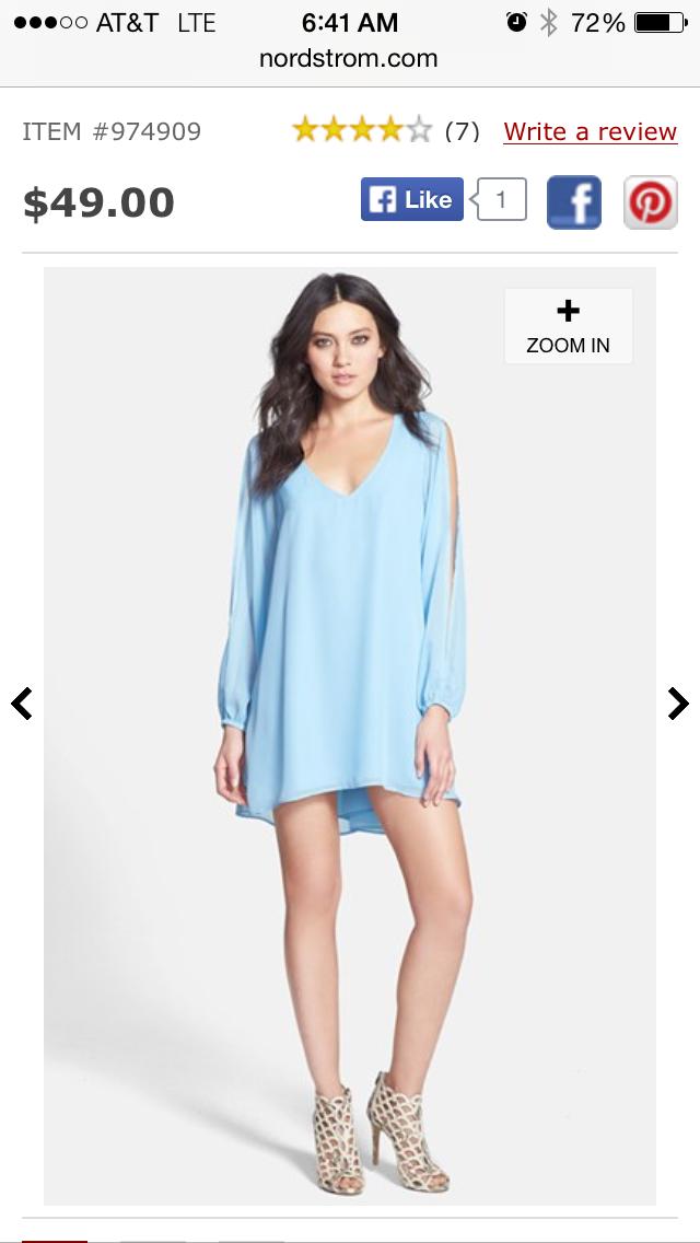 http://shop.nordstrom.com/s/l-is-for-lover-gracie-split-sleeve-mini-dress/3737280?origin=keywordsearch-personalizedsort&contextualcategoryid=0&fashionColor=Blue&resultback=0&cm_sp=personalizedsort-_-searchresults-_-1_1_A