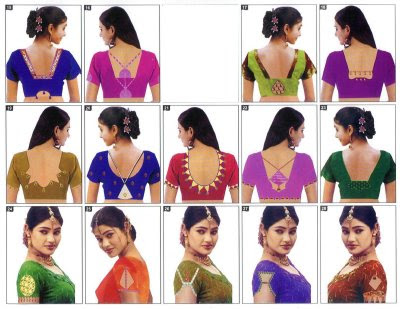 Latest Saree Blouse Designs 2012-2013, Blouse Styles & Patterns 2012