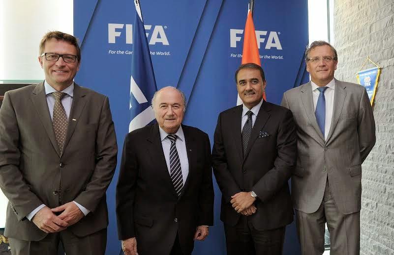 AIFF President met FIFA representatives in Zurich