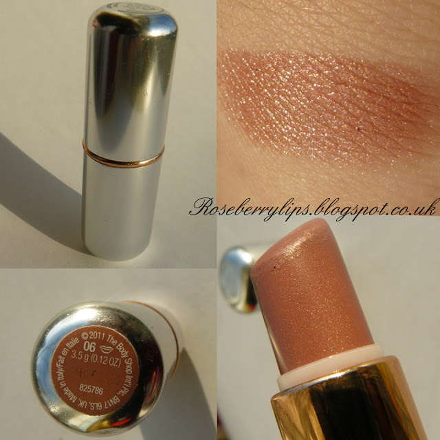 The Body Shop Lipstick in 06