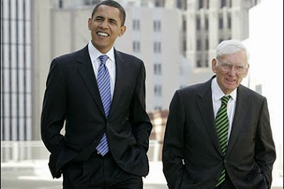 President Barack Obama and former Ambassador to Ireland Dan Rooney