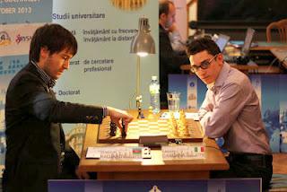 Fabiano Caruana (2779) 1-0 Teimour Radjabov (2733) © Chessbase