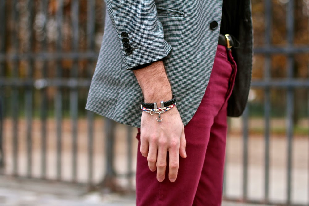 Sailot Seven seas bracelet - The Heart of Influence - blog mode homme mensfashion