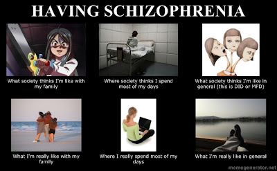 A Picture to Show What Schizophrenia Really Means
