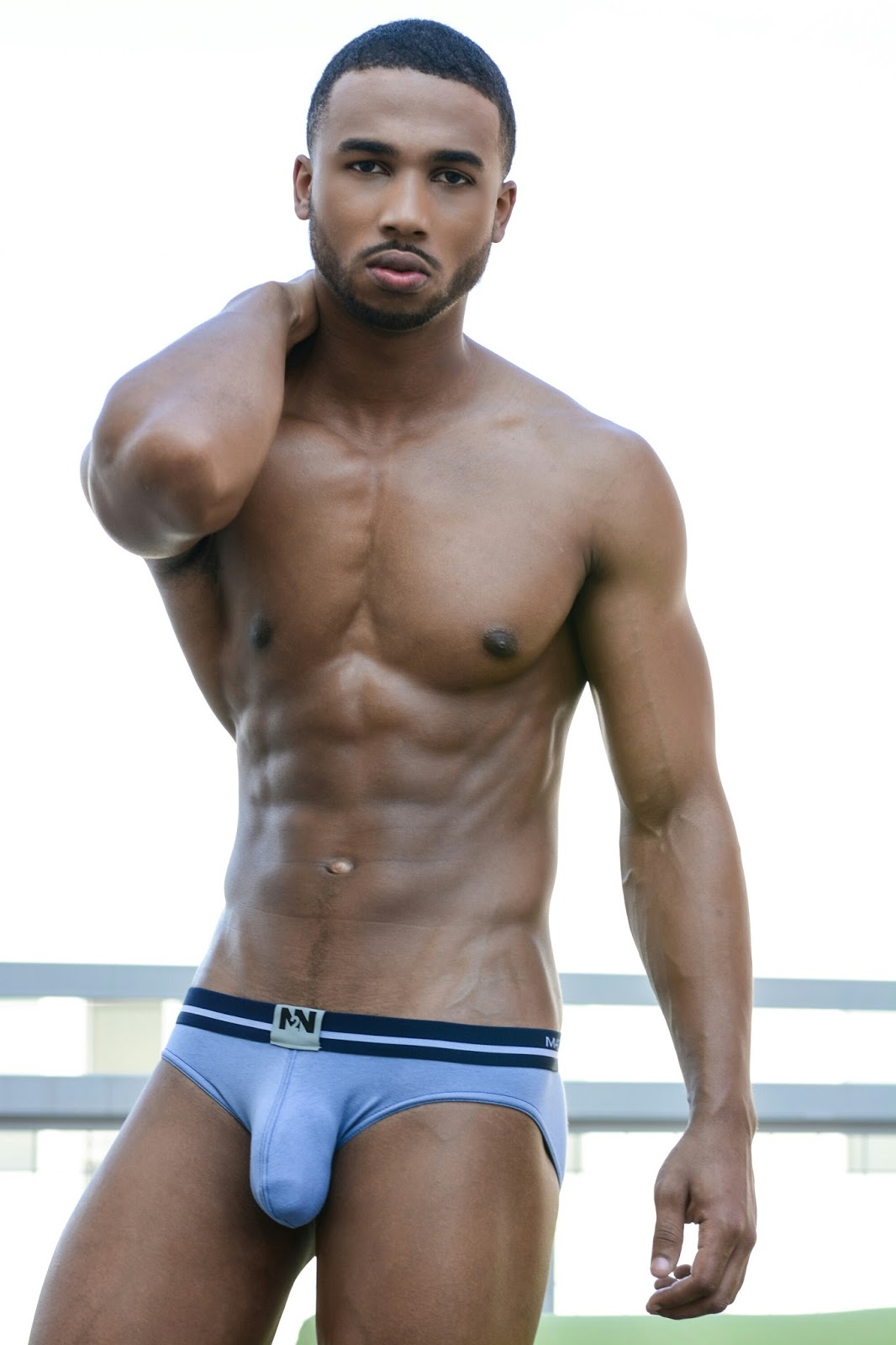 black naked male model