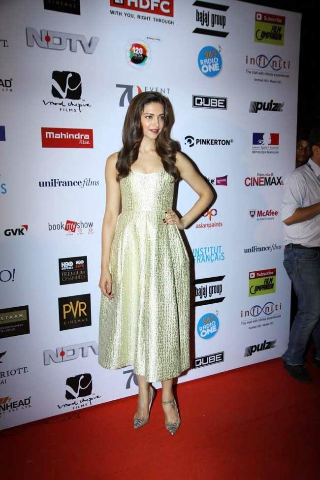 Deepika Padukone At 16th Mumbai Film Festival Opening Ceremony