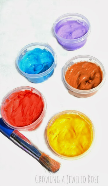 Homemade Face Paint Recipe- only 3 ingredients!
