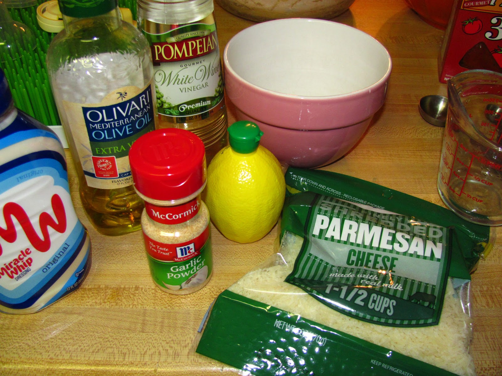 Margarita Salad Dressing