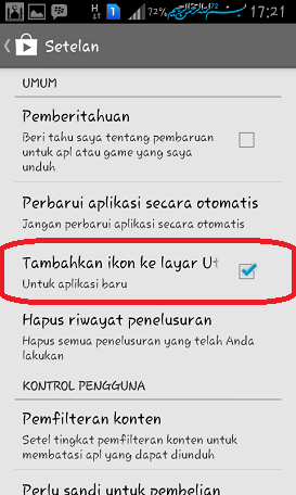 Disable Auto Shorcut Aplikasi Di Home Android
