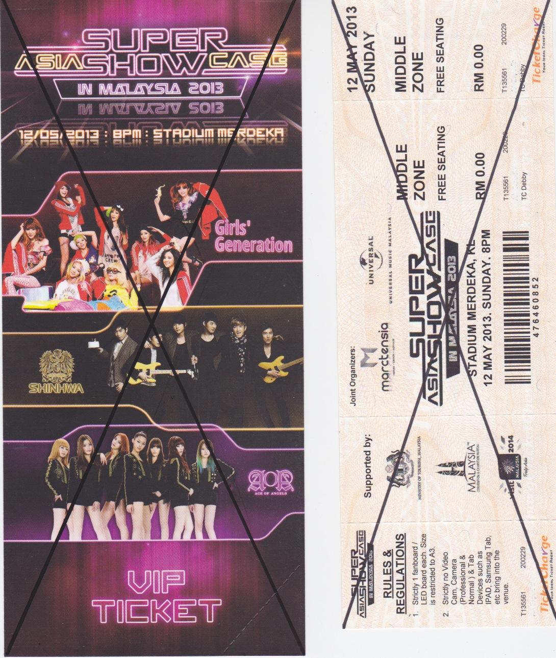 2013 Asia Super Showcase in Malaysia
