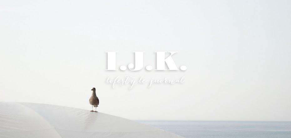 I.J.K. Lifestyle Journal | PL