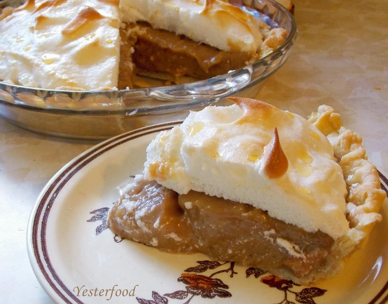 Yesterfood : Rosalynn Carter's Peanut Butter Pie
