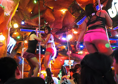 go-go dancing at Phuket Nightlife