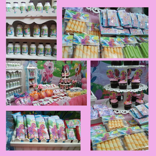 Cookies and candy for sweet bar