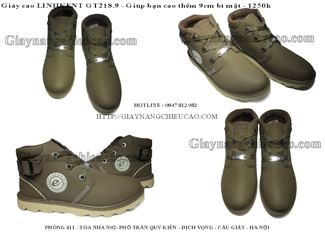 Giày nam trẻ trung GT218. 9