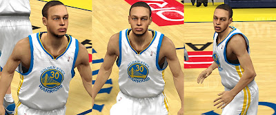 NBA 2K13 Stephen Curry Realistic 2K Face