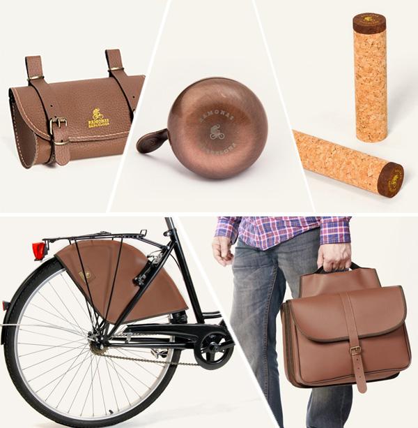 Accesorios de estilo clásico para bicicletas urbanas: Ramonas Classic Collection.