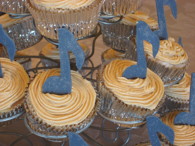 Music Note Cupcakes 2