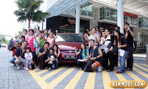 proton exora group photo