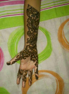 fancy hand hina/mehndi designs