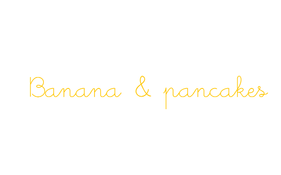 Banana & pancakes