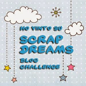 SCRAP DREAMS: ho vinto!!!