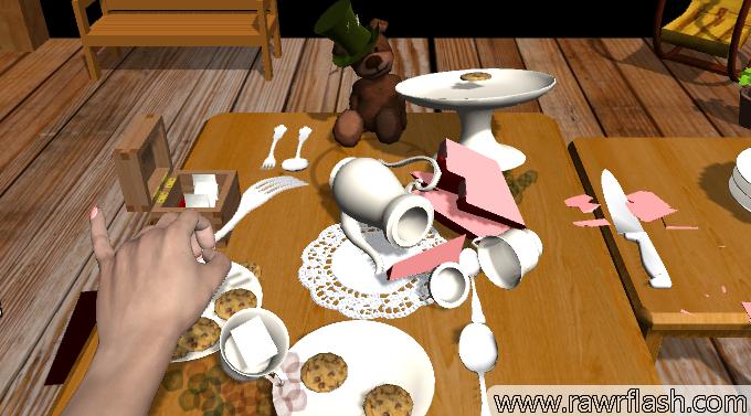 Jogos de simulação, 3D: Simulador de festa do chá