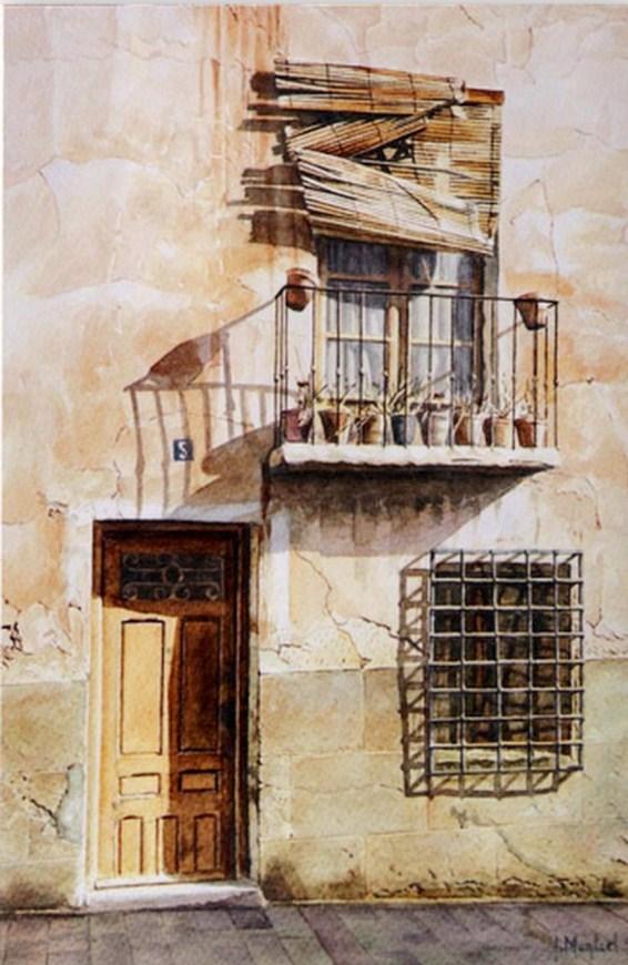 El club del arte latino pinturas puertas y ventanas en for Pintura para marcos de puertas y ventanas