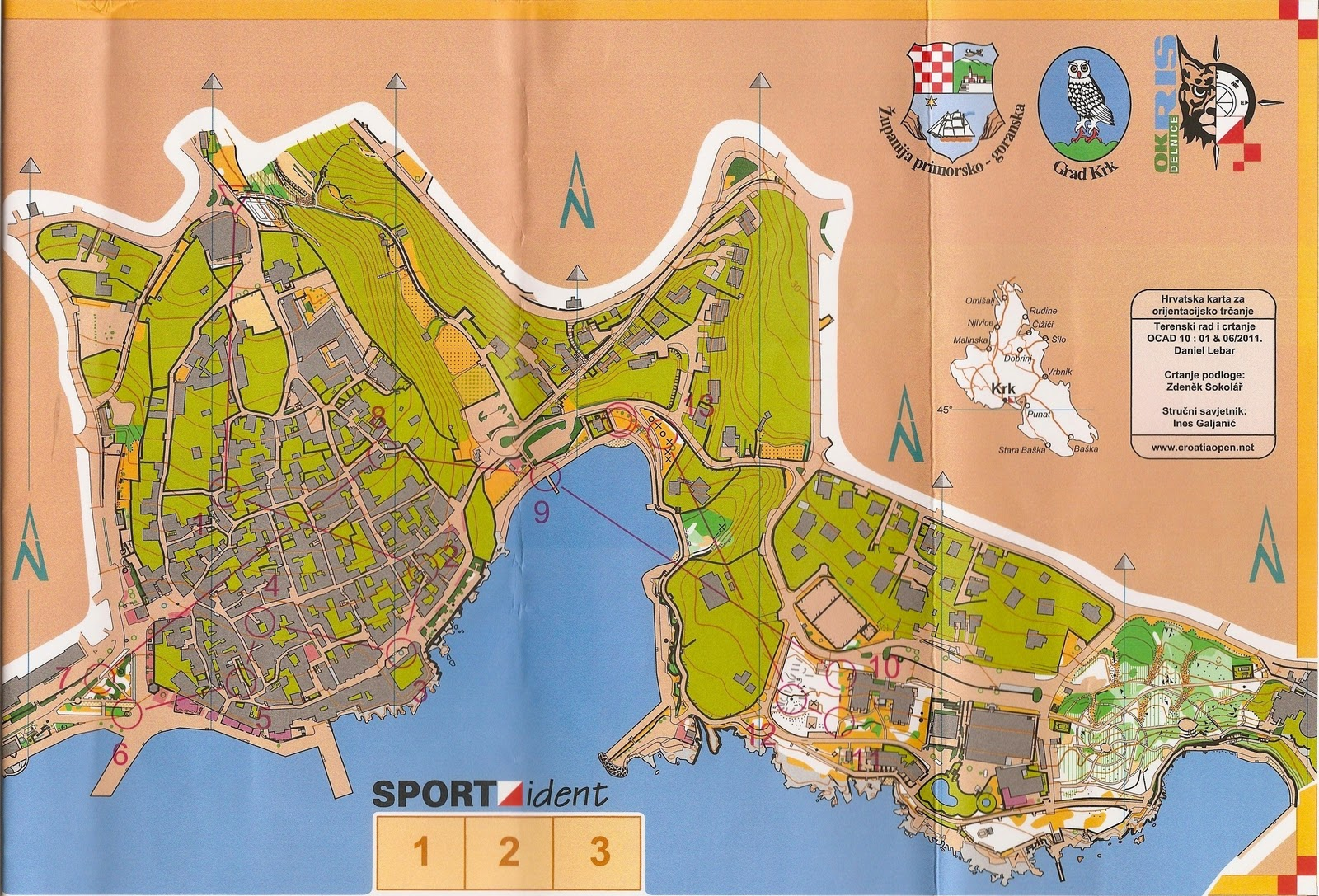 Croatia open map